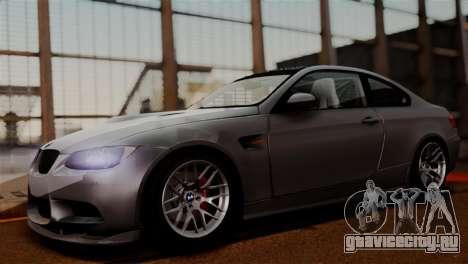 BMW M3 E92 GTS 2012 v2.0 Final для GTA San Andreas вид сзади