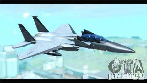 McDonnell Douglas F-15D Timberwolves Squadron для GTA San Andreas