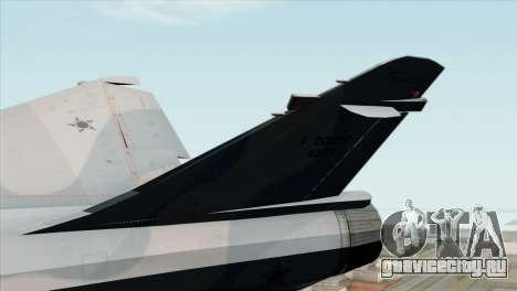 Dassault Mirage 2000 Forca Aerea Brasileira для GTA San Andreas вид сзади слева