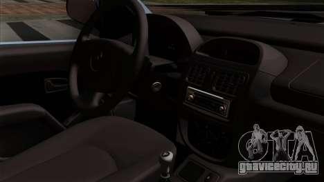 Renault Clio Mio 3P для GTA San Andreas вид справа