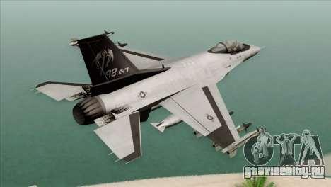 F-16C Fighting Falcon Wind Sword Squadron для GTA San Andreas вид слева