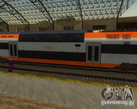 ONCF Ansaldo Breda Z2M (Серединный вагон) для GTA San Andreas вид слева