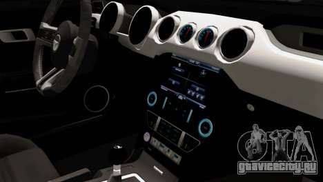 Ford Mustang RTR Spec 2 2015 для GTA San Andreas вид справа