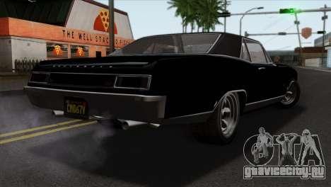 GTA 5 Albany Buccaneer для GTA San Andreas вид слева