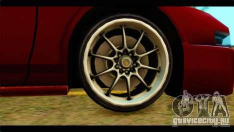 Infernus Rapide S Stock для GTA San Andreas вид сзади слева