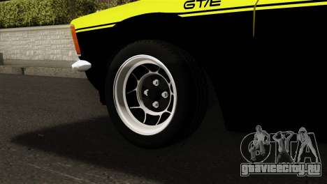 Opel Kadett E GTE 1900 Italian Rally для GTA San Andreas вид сзади слева