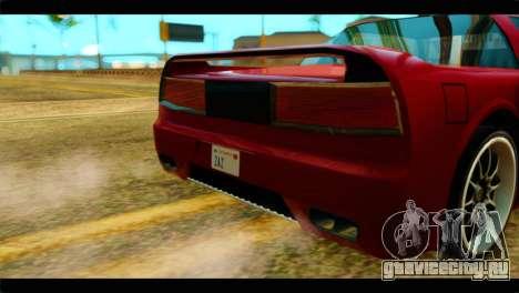 Infernus Rapide S Stock для GTA San Andreas вид справа