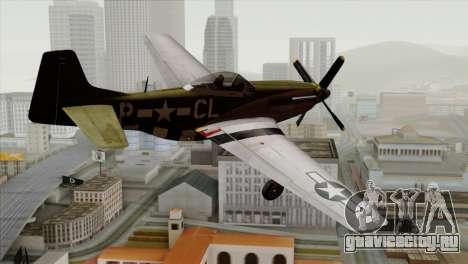 P-51D Mustang Da Quake для GTA San Andreas вид слева