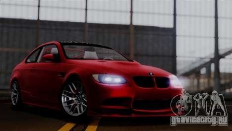 BMW M3 E92 GTS 2012 v2.0 Final для GTA San Andreas