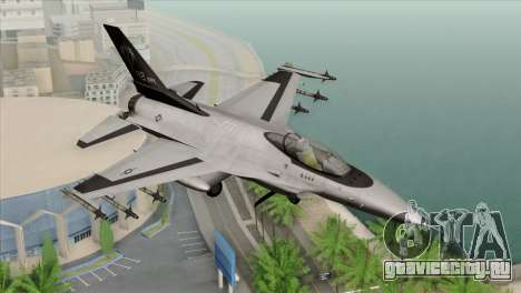 F-16C Fighting Falcon Wind Sword Squadron для GTA San Andreas