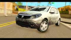 Dacia Sandero Dirty Version для GTA San Andreas