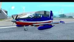 Beechcraft T-6 Texan II Red для GTA San Andreas