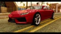 Lamborghini Estoque PJ для GTA San Andreas