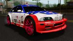 BMW M3 GTR 2001 Prototype Technology Group для GTA San Andreas