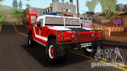 Hummer H1 Fire для GTA San Andreas