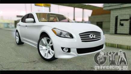 Infiniti M56 для GTA San Andreas