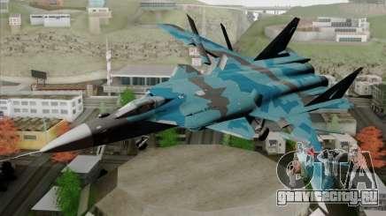 SU-47 Berkut Winter Camo для GTA San Andreas
