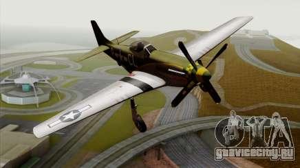 P-51D Mustang Da Quake для GTA San Andreas