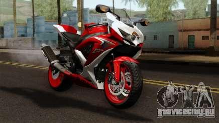 Suzuki GSX-R 2015 Red & White для GTA San Andreas