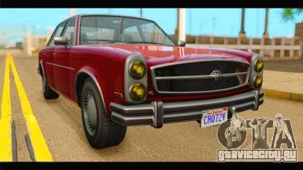 GTA 5 Benefactor Glendale IVF для GTA San Andreas