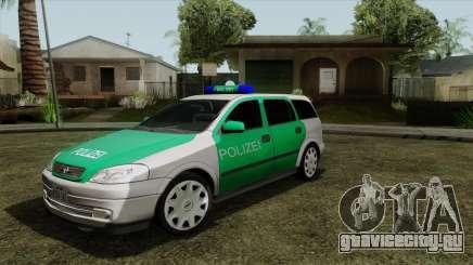 Opel Astra G 1999 Police для GTA San Andreas
