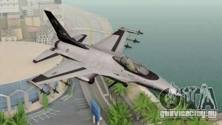 F-16C Fighting Falcon Wind Sword Squadron для GTA San Andreas