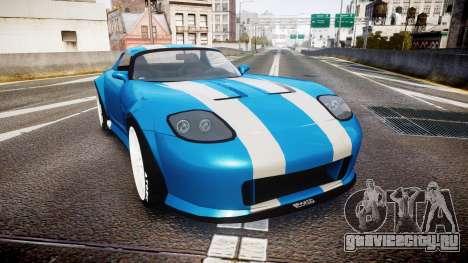 Bravado Banshee Double Stripe для GTA 4