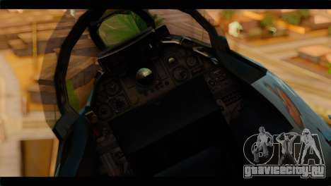 Grumman F-14D SuperTomcat Metal Gear Ray для GTA San Andreas вид сзади