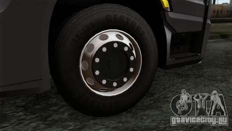 Mercedes-Benz Actros MP4 Euro 6 IVF для GTA San Andreas вид сзади слева