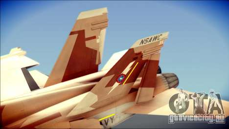 F-22 Raptor Starscream для GTA San Andreas вид сзади слева