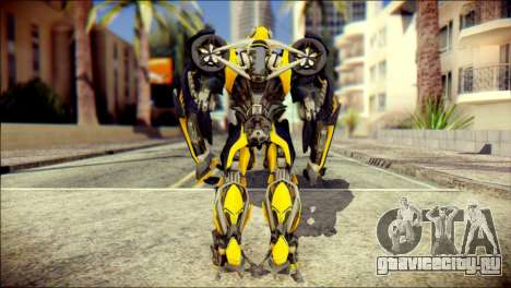 Bumblebee Skin from Transformers для GTA San Andreas второй скриншот
