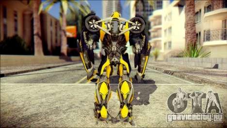 Bumblebee Skin from Transformers для GTA San Andreas второй скриншот