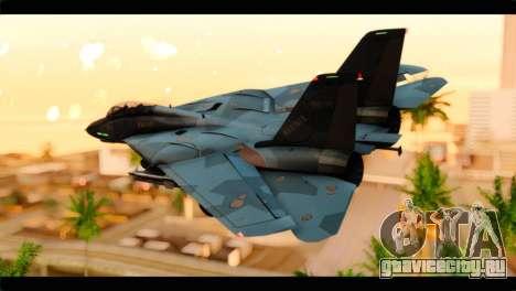 Grumman F-14D SuperTomcat Metal Gear Ray для GTA San Andreas вид слева