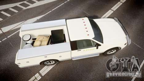 GTA V Vapid Utility Truck для GTA 4 вид справа