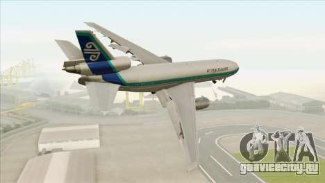 DC-10-30 Air New Zealand для GTA San Andreas вид слева