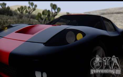 Bullet PFR v1.1 HD для GTA San Andreas вид сверху