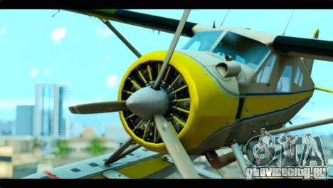 GTA 5 Sea Plane для GTA San Andreas вид справа