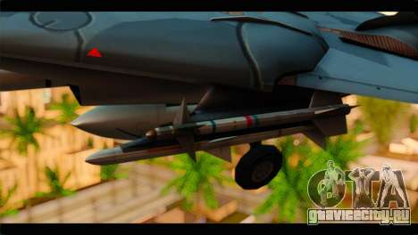 Grumman F-14D SuperTomcat Metal Gear Ray для GTA San Andreas вид справа