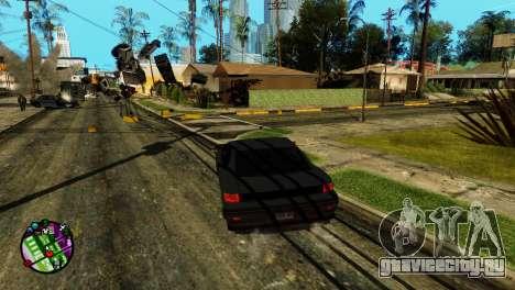 Транспорт вместо пуль V2 для GTA San Andreas третий скриншот
