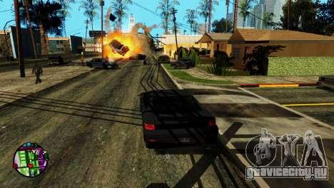 Транспорт вместо пуль V2 для GTA San Andreas четвёртый скриншот