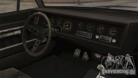 GTA 5 Declasse Stallion IVF для GTA San Andreas вид справа