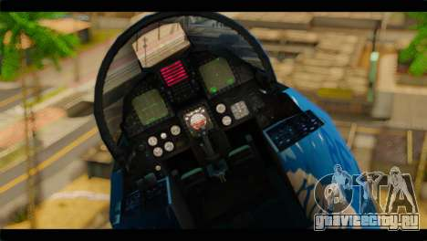 F-15E 303rd TFS Fighting Dragons для GTA San Andreas вид сзади