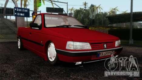 Peugeot 405 Pickup для GTA San Andreas