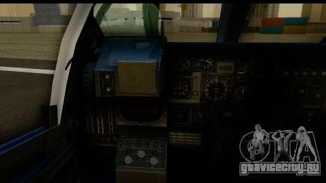 Northrop Grumman EA-6B ISAF для GTA San Andreas вид изнутри