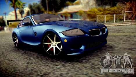BMW Z4M Coupe 2008 для GTA San Andreas