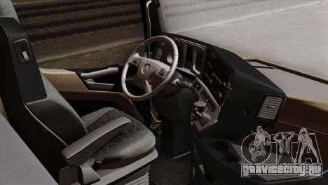 Mercedes-Benz Actros MP4 Euro 6 IVF для GTA San Andreas вид справа