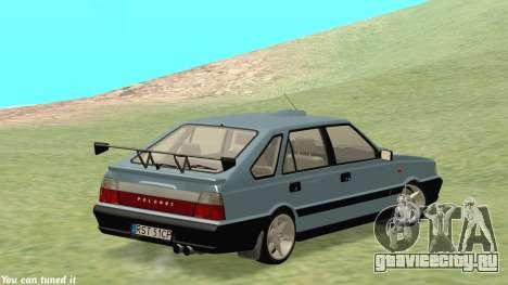 Daewoo FSO Polonez Caro Plus ABC 1999 для GTA San Andreas вид изнутри
