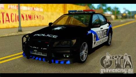 Toyota Altezza Police для GTA San Andreas