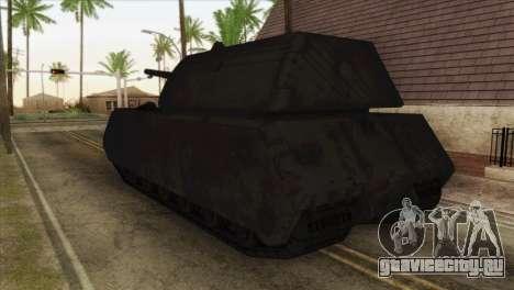 Panzerkampfwagen VIII Maus для GTA San Andreas вид слева