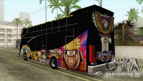 Bus Thailand для GTA San Andreas вид слева